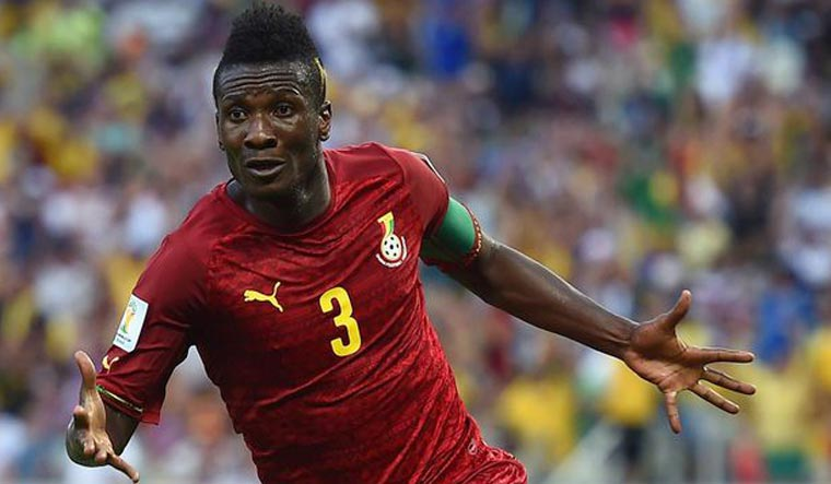 Legon City FC signs Asamoah Gyan