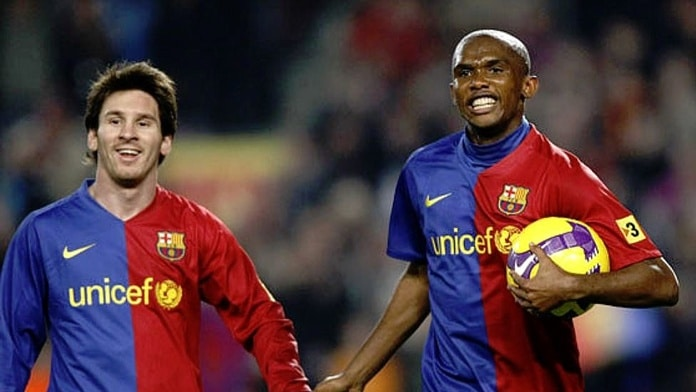 Analyzing Samuel Eto'o Fils' 'Barcelona is Messi' comment.