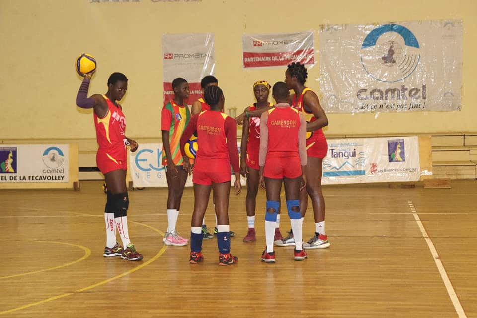 CAN U-20: Selection training begins for Cameroon ladies volleyball team