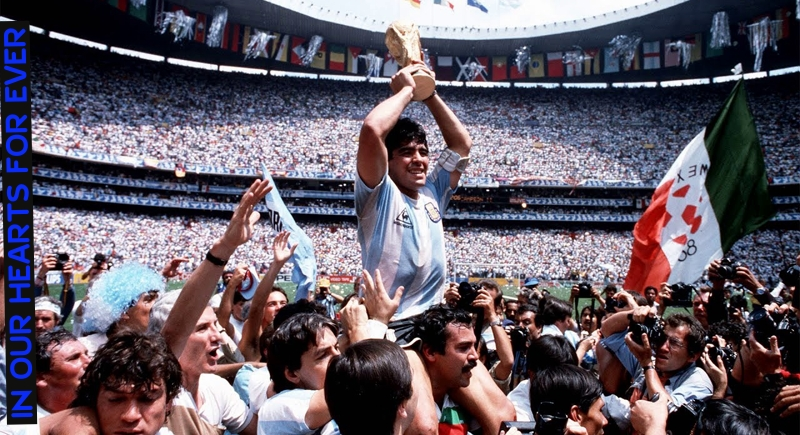 Diego Armando Maradona : A God amongst men