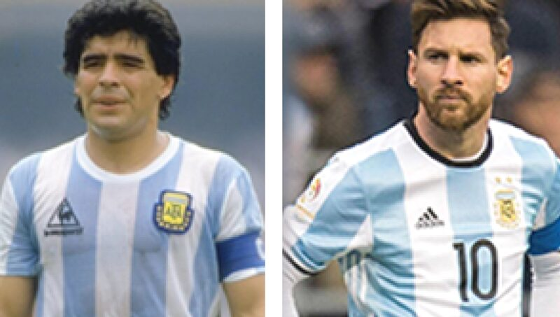 Comparing Messi and Maradona- a difficult task?