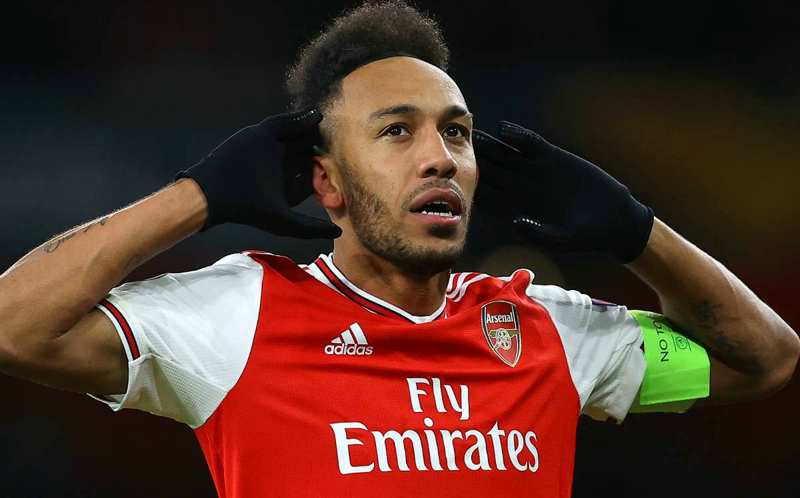 Top 10 highest paid Active African footballers in 2021-Pierre-Emerick Aubameyang