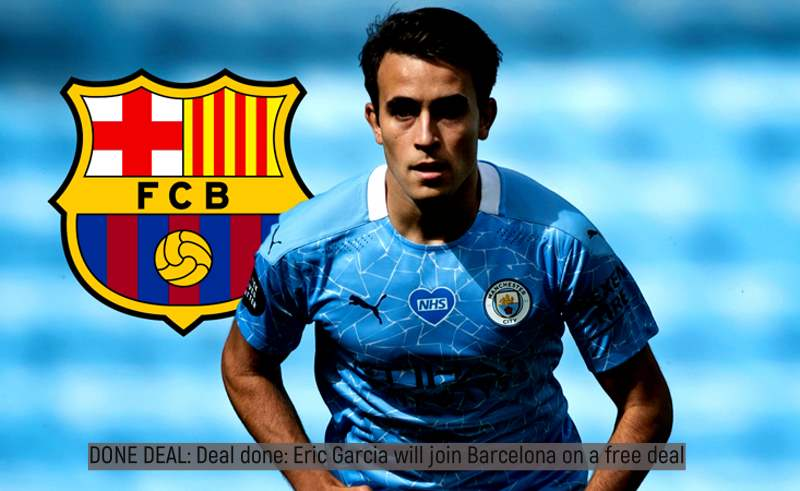 Deal done: Eric Garcia will join Barcelona on a free deal