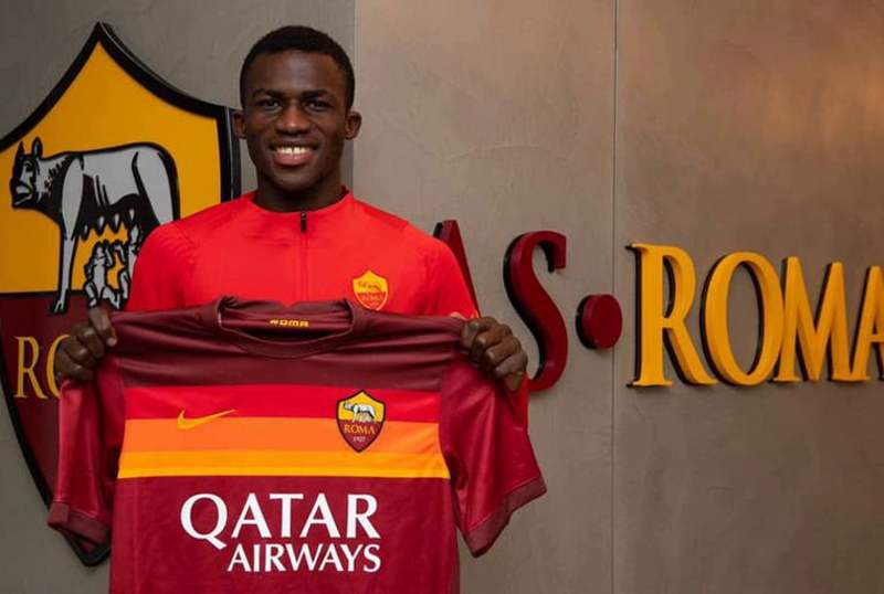 Ghanian youngster Felix Ohene Gyan joins Roma