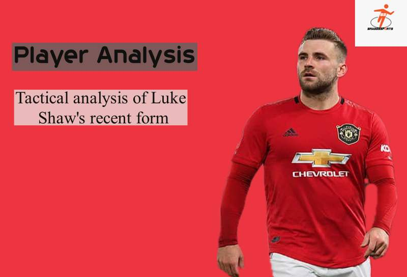 Tactical analysis of Luke Shaw's recent form
