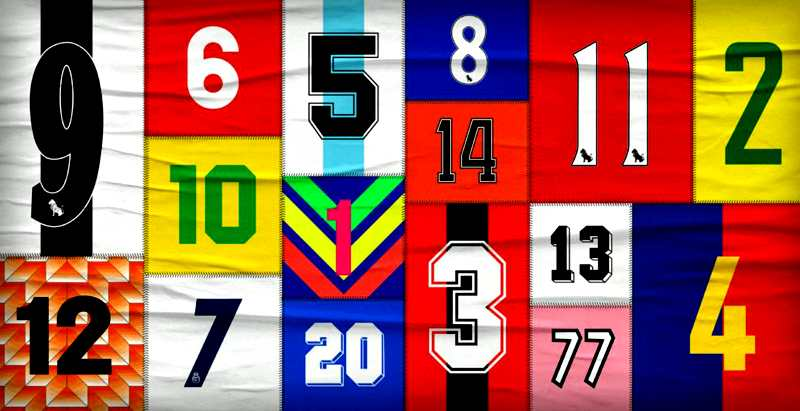 Football Shirt Numbers Explained