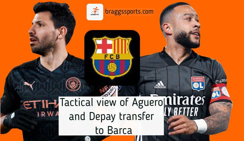 Tactical view of Aguero and Depay transfer to Barca