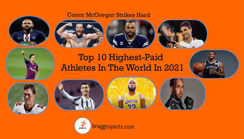 Top 10 Highest-Paid Athletes In The World In 2021