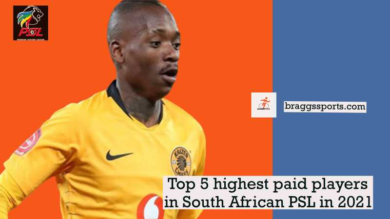 Top 5 highest paid players in South African PSL in 2021