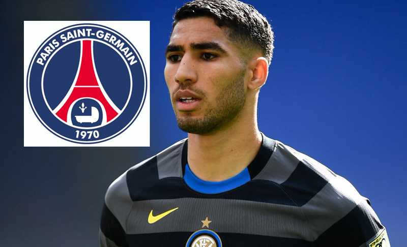 Inter's Achraf Hakimi agrees personal terms with PSG
