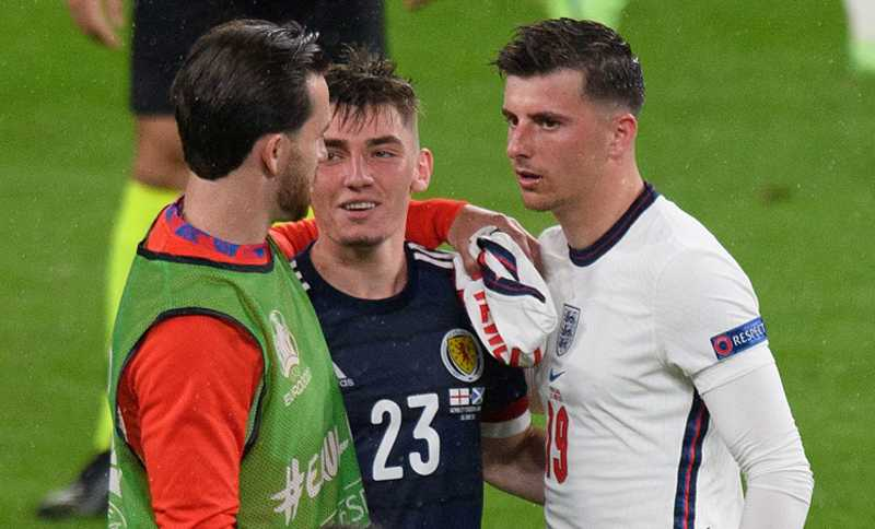 Euro 2020: Mason Mount and Ben Chilwell in isolation