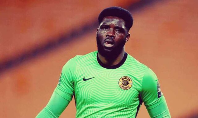 Kaizer Chiefs goalkeeper Akpeyi breaks speaks-out after CAF Champions League final defeat