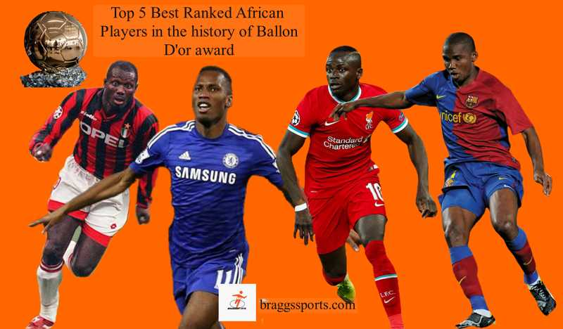 Top 5 African players in the history of Ballon D'or award