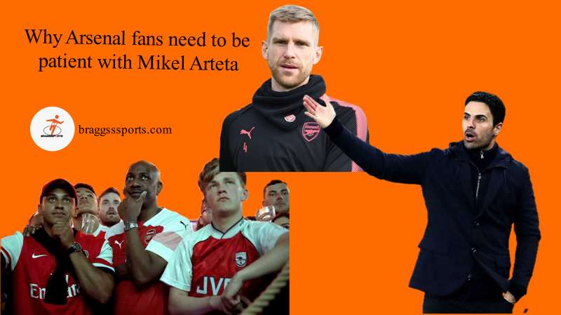 Why Arsenal fans need to be patient with Mikel Arteta