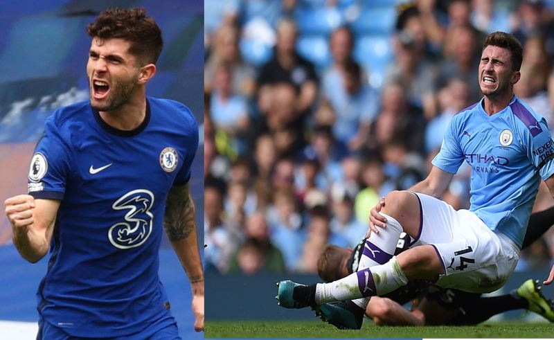Man City duo in Stones and Laporte injured- Boost for Chelsea?