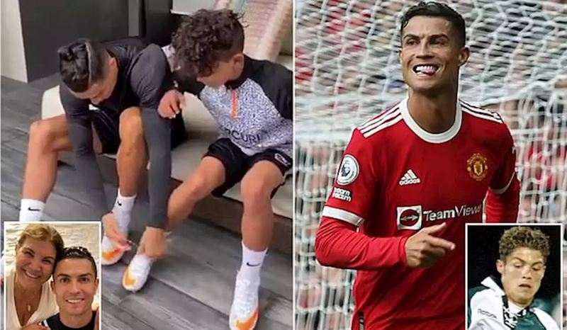 Ronaldo's mother claims her grandson is BETTER than Ronaldo was at his age