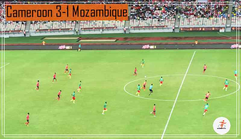 Cameroon trash Mozambique 3-1 in World cup 2022 qualifiers